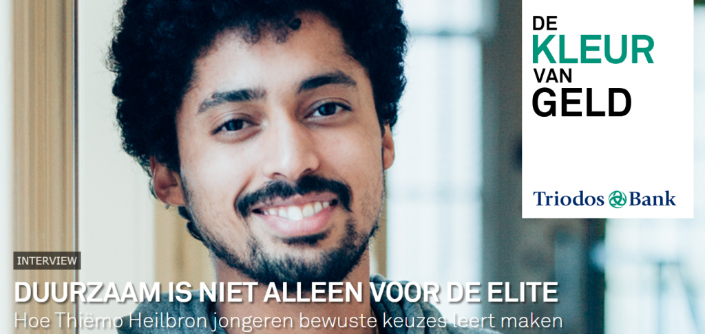 Interview met Thiëmo in Triodos